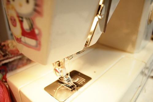 Hello again sewing machine