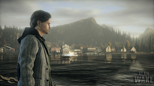 Alan Wake city lake