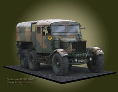 Scammell R100 HAT lorry ((The) Appleman) Tags: truck army military wwii artillery british heavy tow digitalillustration lorrry fotocreations novaman396