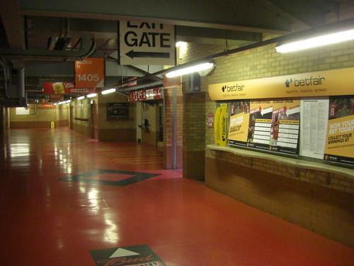 Old Trafford, Manchester / Im Stadion
