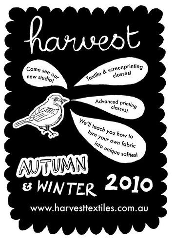 Harvest textiles AW10