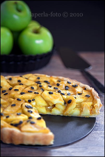 Apple & Passion Fruit Tart2