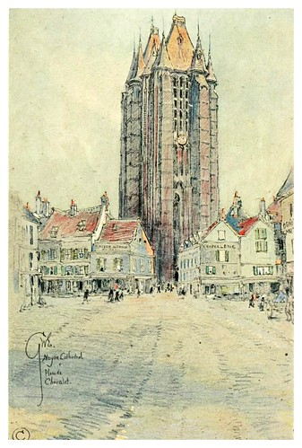 009- Catedral de Noyon-Vanished halls and cathedrals of France 1917- Edwards George Wharton