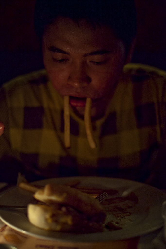 earth hour @ flapjacks