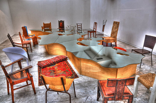 france art museum marseille mac chairs furniture contemporary musée provence hdr chaises mobilier contemporain 3xp