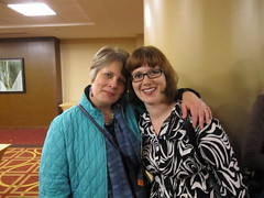 Speakers Reception (Librarian by Day) Tags: newman bobbi rochellehartman cil2010