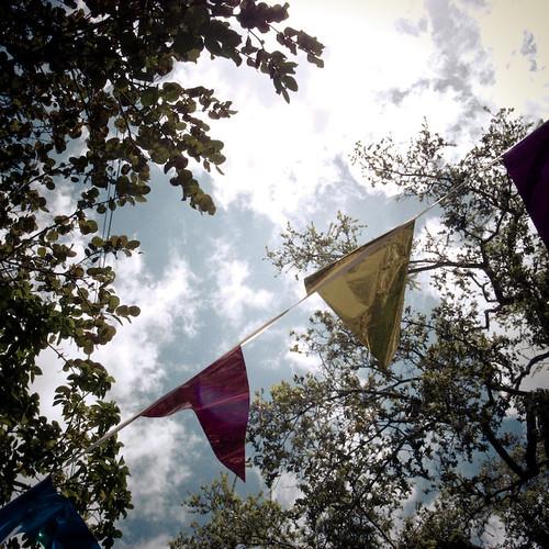 Flags Across the Sky