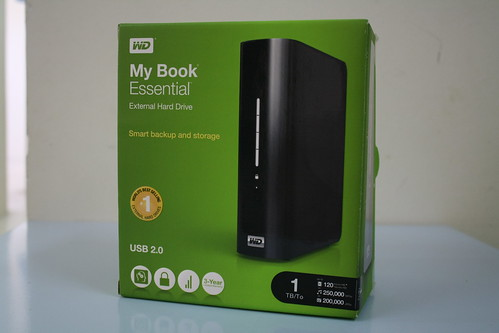 4527820496 09252e17a8 Unboxing Western Digital My Book Essential 1TB