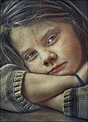 freckles (TheWalkinMan) Tags: portrait face starbucks freckles nikonsunglassesscoredatthethriftstore