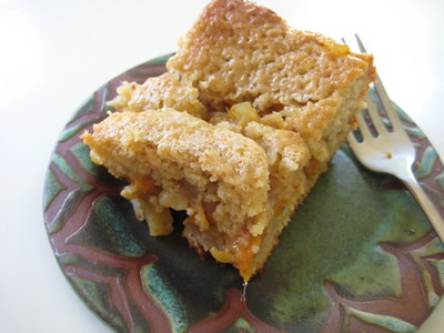 mango ginger coffee cake