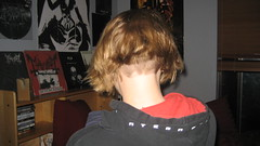 IMG_0915 (raiH enaS) Tags: girl hair short blonde haircutting bobhaircut buzzednape
