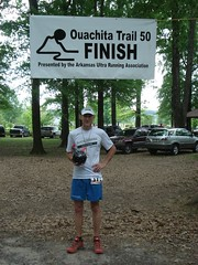 Race Team member, Matt Sims at Ouachita 50