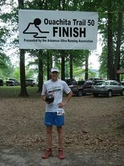 Race Team member, Matt Sims at Ouachita 50