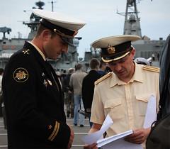 071 (AnkhaiStenn) Tags: show red sea soldier star war ship russia military union navy international maritime captain soviet warrior russian frigate naval defence officer ussr imds leutenant