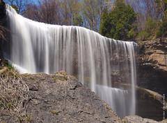 Webster's Falls - April, 2010 (DHPhotos) Tags: ontario creek flow waterfall stream falls brook flowing websters webstersfalls greensville hamiltonwaterfallgroupwater