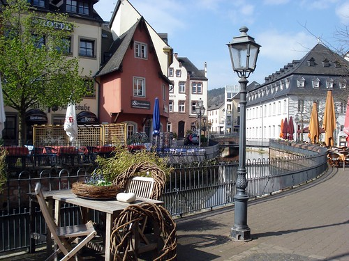 "Auf dem Graben - ""The little Venice of Saarburg"""