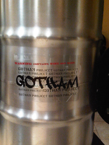 Gotham Project wine keg