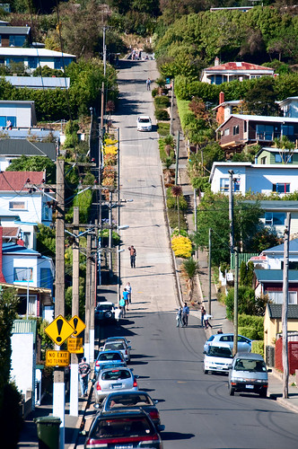 Dunedin - The World Steepest Street 01