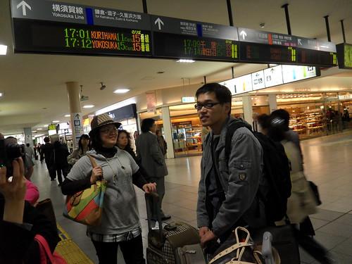 從成田機場要坐電車到品川,再從品川換車到蒲田