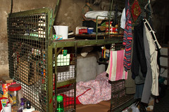 The grim realities of cage dwelling 2 (Pondspider) Tags: poverty china hongkong apartments families chinese cubicle cage elderly hmo immigrants 香港 soco slum kok cubicles mong dwellings slumlord landlords taikoktsui anneroberts metalcages anchorstreet annecattrell societyforcommunityorganization housesinmultipleoccupation pondspider cubiclehomes cagedweller cagedwellings fuktsunstreet fuktsuenstreet 香港社區組織協會 cubicleapartments cubicleapartment