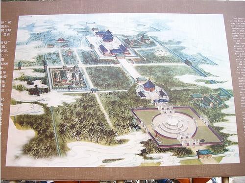 Beijing Temple of Heaven Map