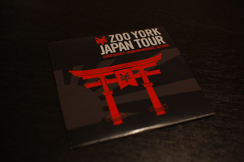 "ZOO YORK ""JAPAN TOUR"""