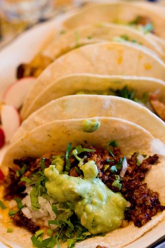 Chorizo taco, El Paso Taqueria