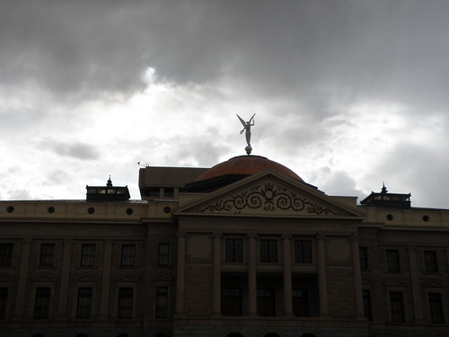 Clouds Over the Capitol