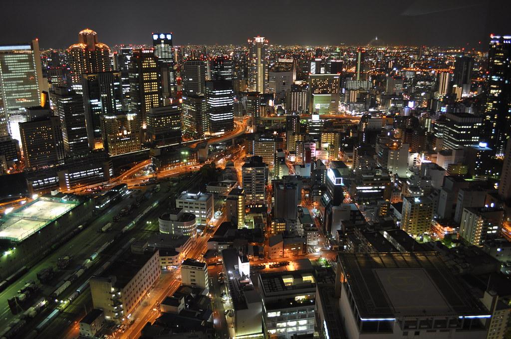 Osaka night view