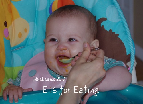 E is for Eating