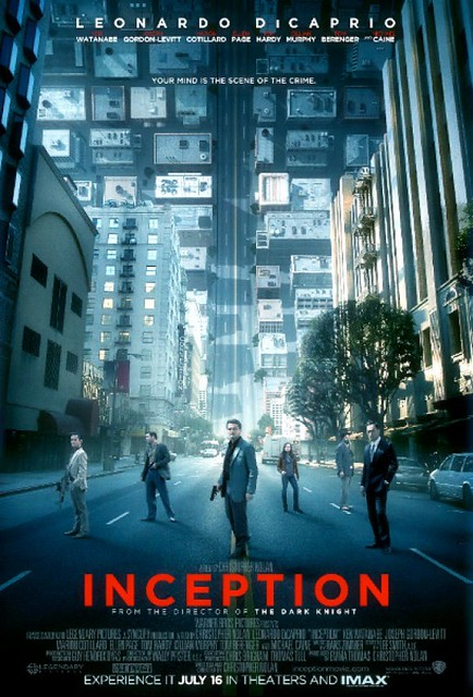 Inception Movie Poster by Movie Poster Shop