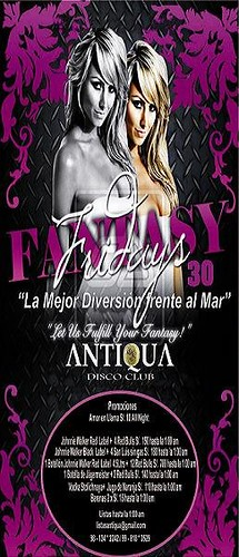 Fantasy Night - Antiqua Disco Club
