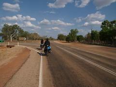 P9079017.JPG (daimiya) Tags: nature bike bicycle desert australia olympus e3 northernterritory   pushbike     savannahway