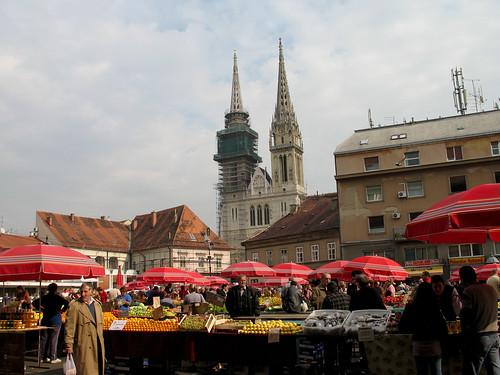 Zagreb Market - Croatia