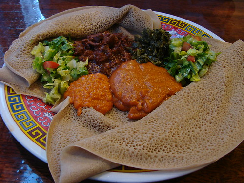 Eritrean Food from Asmara in Porland