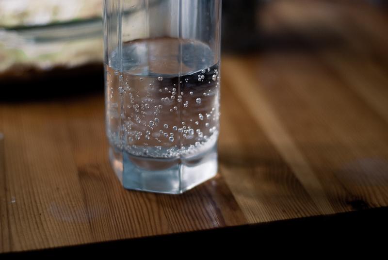 Water still life in N.'s kitchen