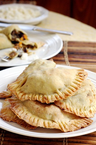 Banana Black Bean Sweet Potato Empanadas