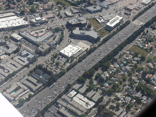 101 Freeway, Burbank Blvd. and Ventura Blvd.