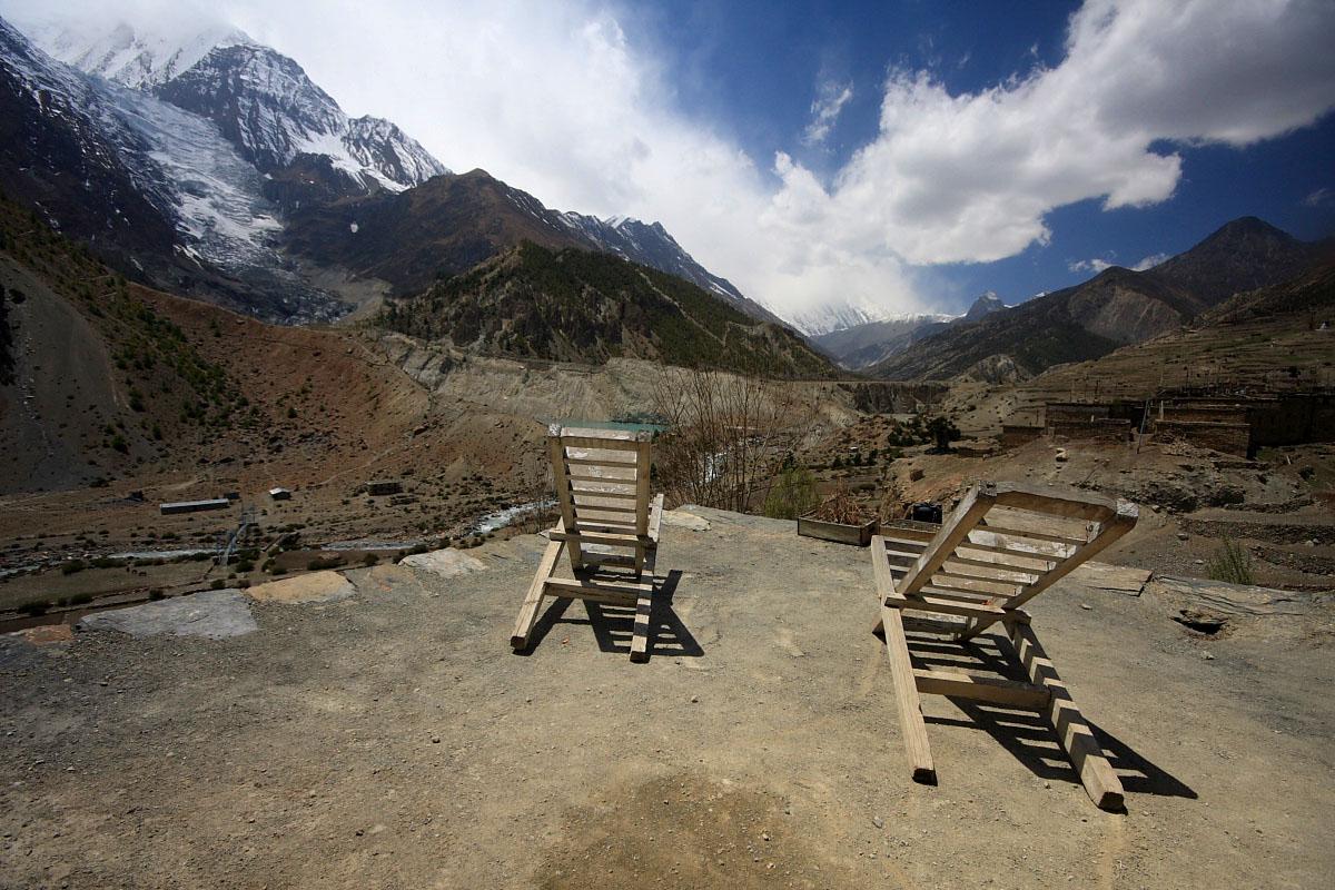 Wokół Annapurny – w drodze na przełęcz