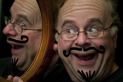 Self Portrait with Moustache