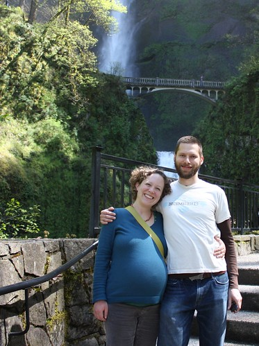 Me and Patrick at Multnomah Falls