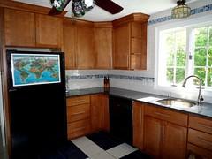 Kitchen remodel (darthmiles) Tags: kitchen tile sink faucet granite cabinets