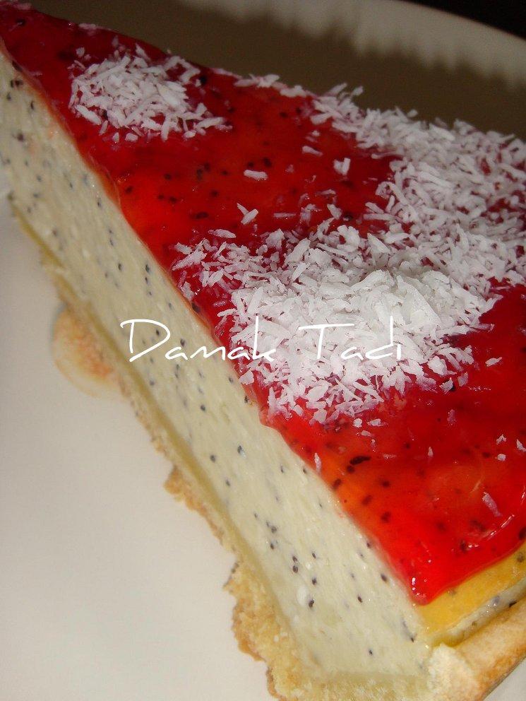 Haşhaşlı Pudingli Pasta
