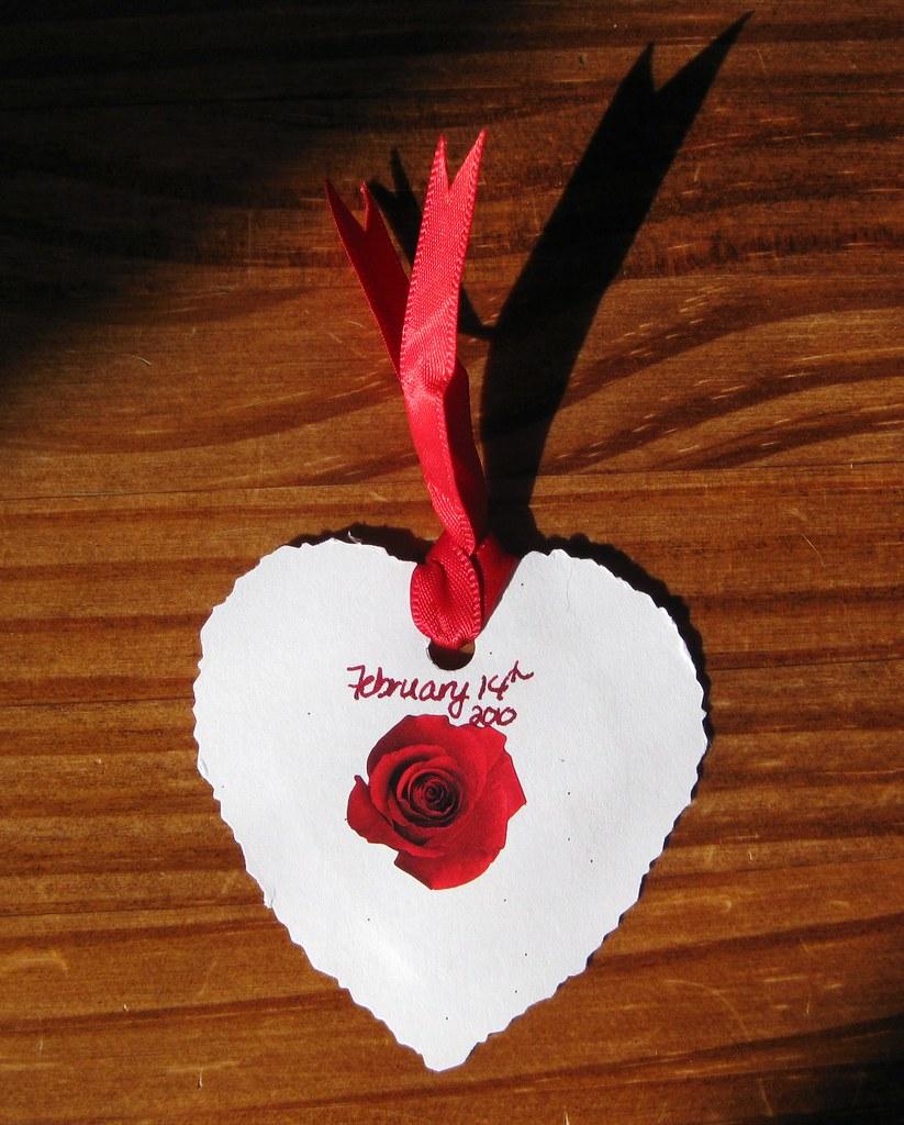 Blog reader handmade valentine