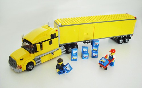 lego yellow truck 3221 instructions