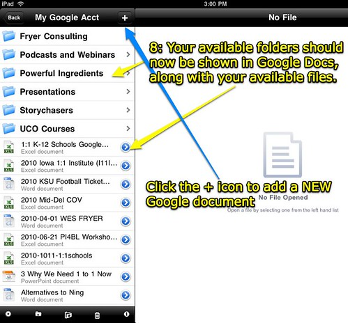 Step 8: Office2 Pro on the iPad
