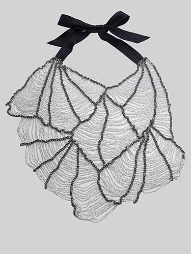 Vera Wang SS10 Web Butterfly Necklace 09