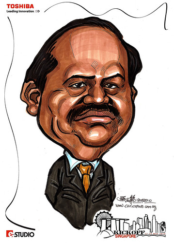 Caricature of Rajagopal
