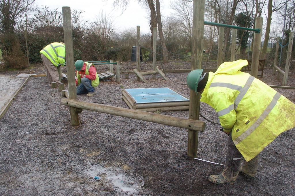 Dennington Primary School Excavation - February 2010