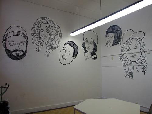 Kavka Wall Painting